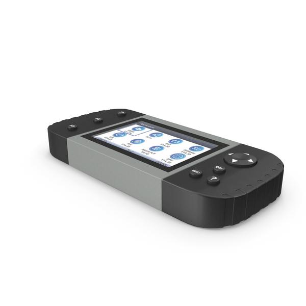 Car Diagnostic Scanner Grey PNG & PSD Images