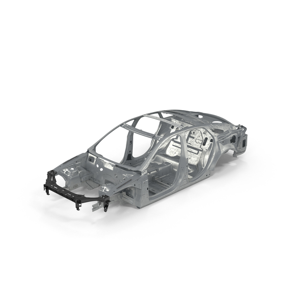 Car Frame with Chassis PNG & PSD Images