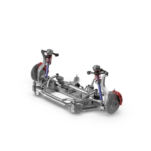 Axle: Car Frame with Chassis PNG & PSD Images