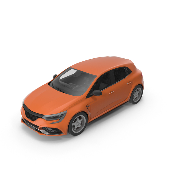Hatchback: Car Orange PNG & PSD Images