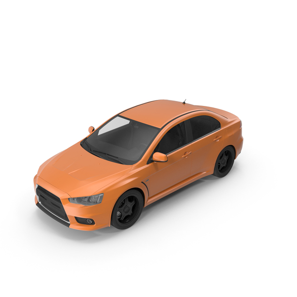 Car Orange PNG & PSD Images