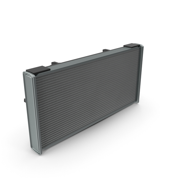 Car Radiator with Fan PNG & PSD Images