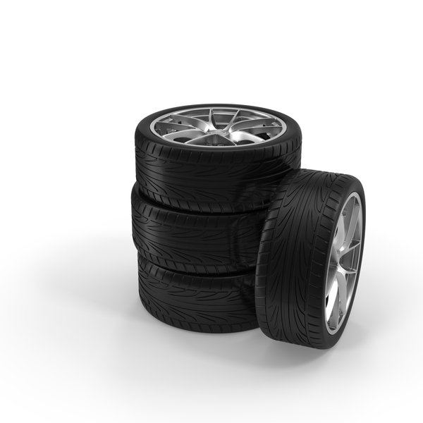 Car Tire Stack PNG & PSD Images