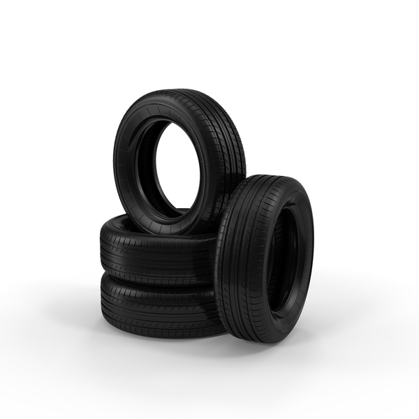 Car Tires Stacked PNG & PSD Images