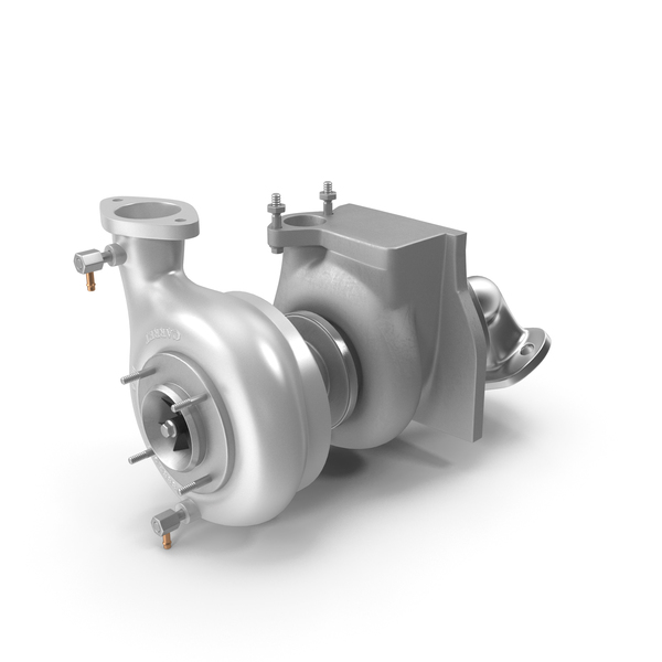 Car Turbo Turbine Turbocharger PNG & PSD Images