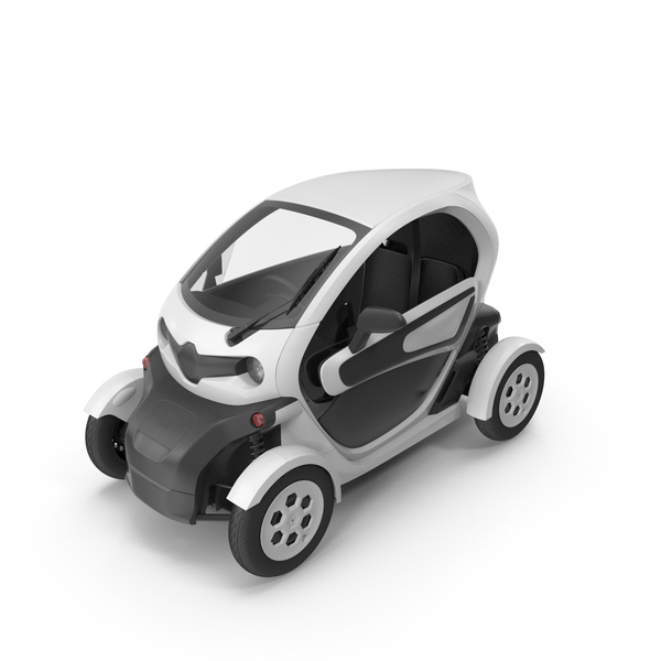 Electric Cart: Car White PNG & PSD Images