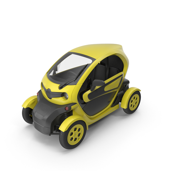 Electric Cart: Car Yellow PNG & PSD Images