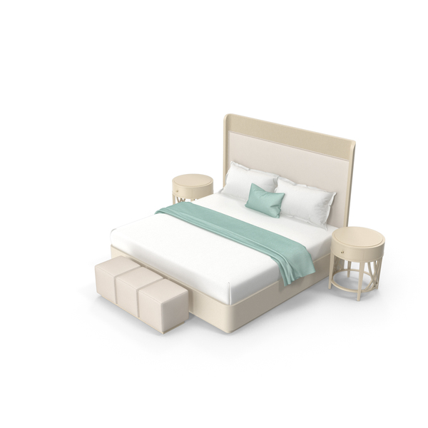 Caracole Bedroom Set PNG & PSD Images