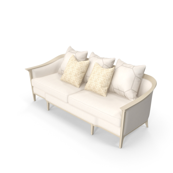 Caracole Eaves Drop Sofa PNG & PSD Images