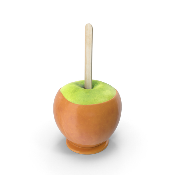 Caramel Apple PNG & PSD Images