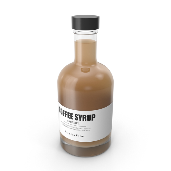Caramel Coffee Syrup PNG & PSD Images