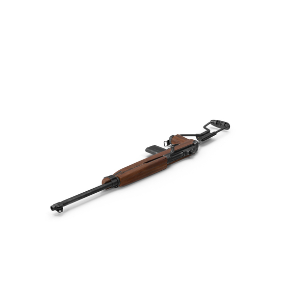 Carbine M1A1 Folding Stock PNG & PSD Images