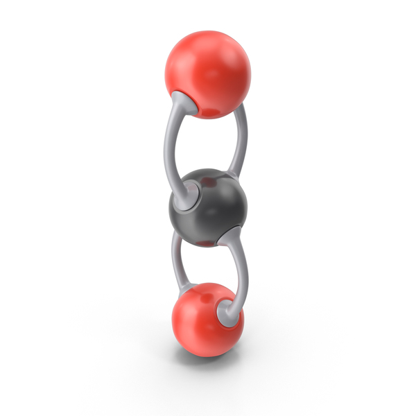 Carbon Dioxide Molecule PNG & PSD Images
