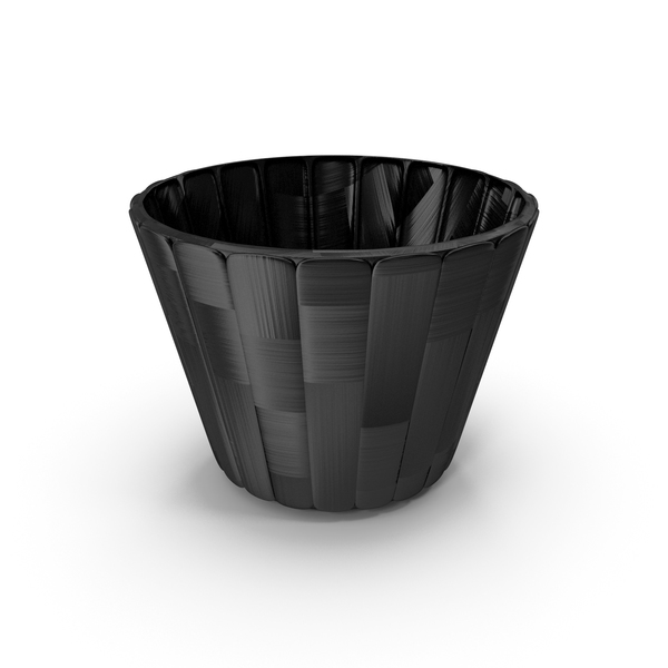 Plastic: Carbon Fiber Bowl Cup Pot Vase PNG & PSD Images