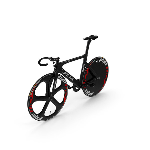 Bicycles: Carbon Track Bike Dolan DF4 PNG & PSD Images