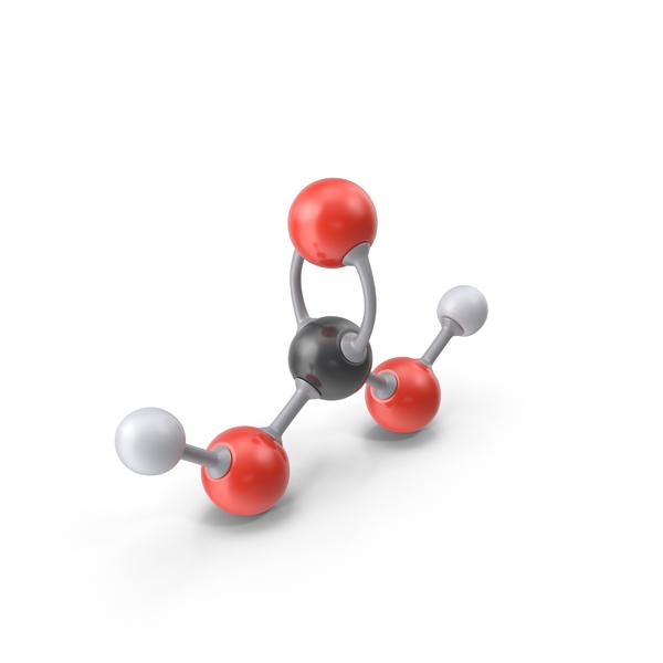 Carbonic Acid Molecule PNG & PSD Images