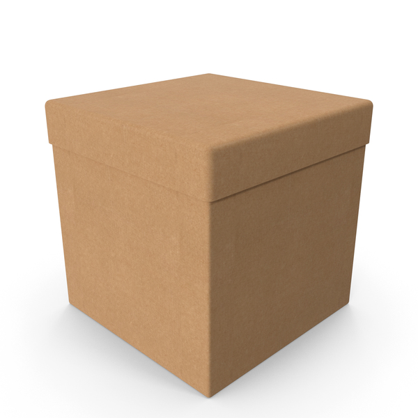 Paper: Cardboard Box Cube PNG & PSD Images