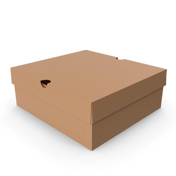 Cardboard Box Medium PNG & PSD Images
