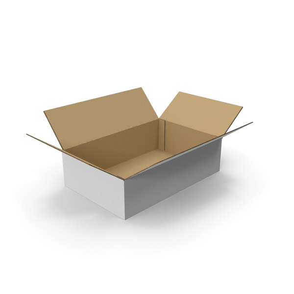 CardBoard Box Open PNG & PSD Images