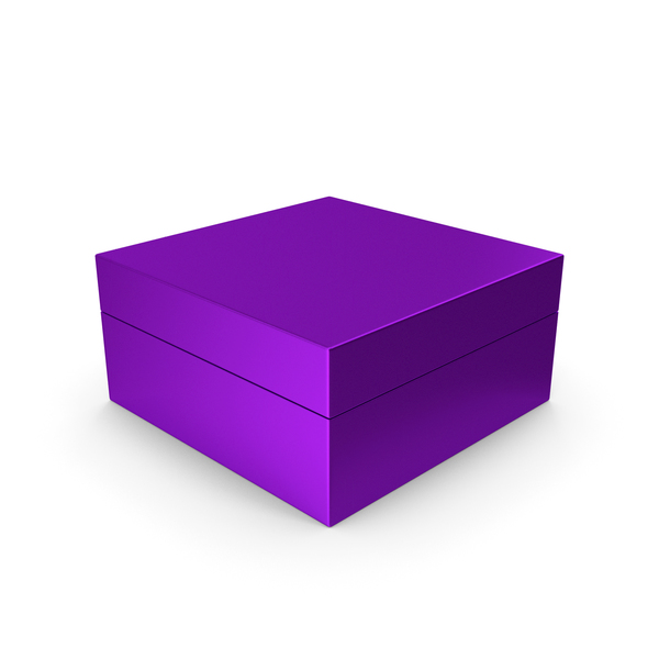 Cardboard Box Purple PNG & PSD Images