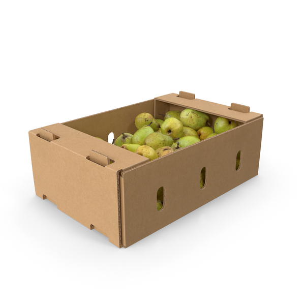 Cardboard Box With Taylors Gold Pear PNG & PSD Images