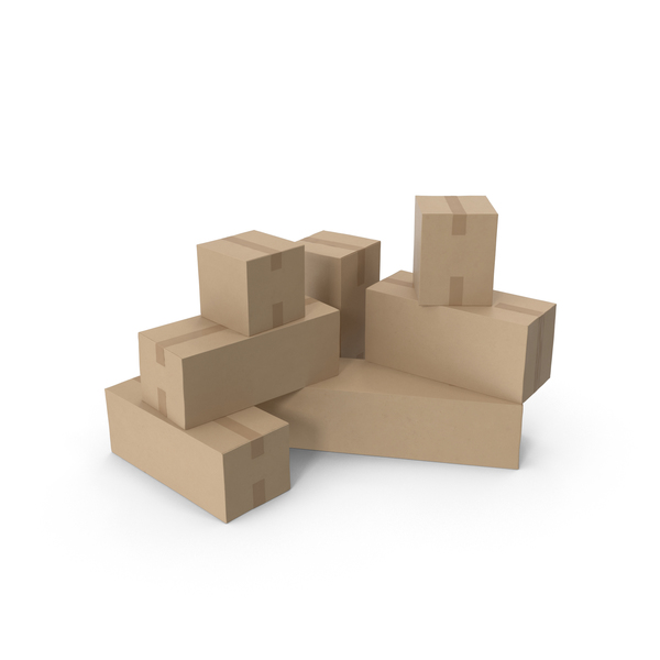 Box: Cardboard Boxes PNG & PSD Images