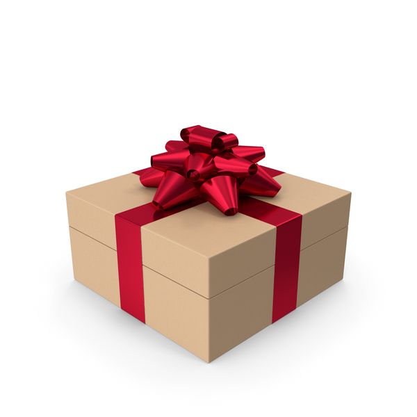 Cardboard Gift Box PNG & PSD Images