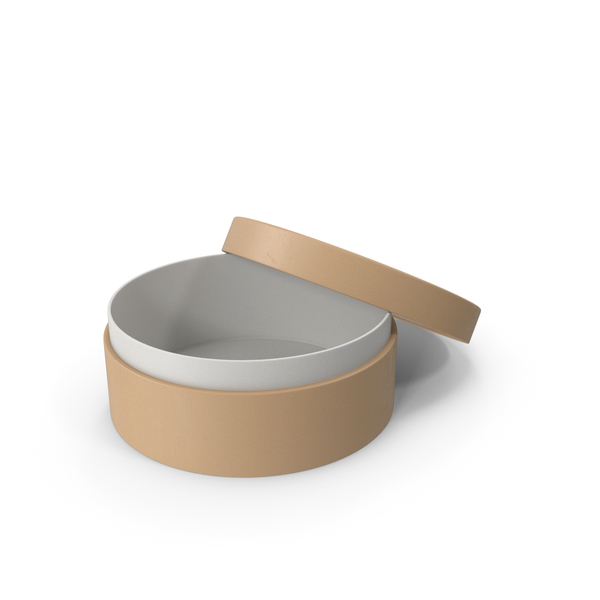 Cardboard Ring Package Opened PNG & PSD Images