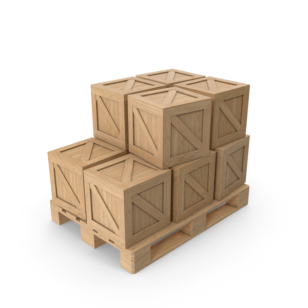 Cargo Boxes and Pallets PNG & PSD Images