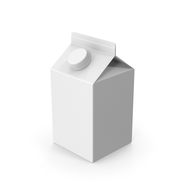 Milk: Carton Package Short PNG & PSD Images