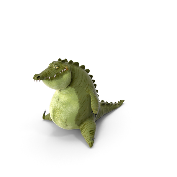 Cartoon Alligator PNG & PSD Images