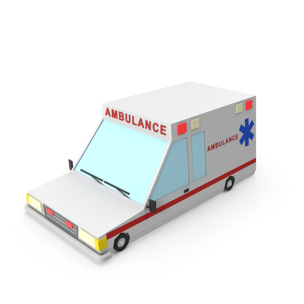 Cartoon Ambulance Vehicle PNG & PSD Images