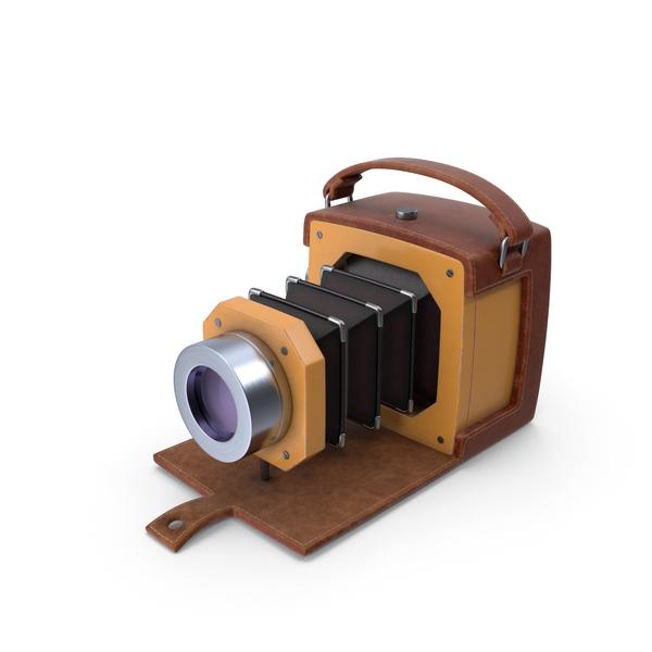 Cartoon Antique Camera PNG & PSD Images