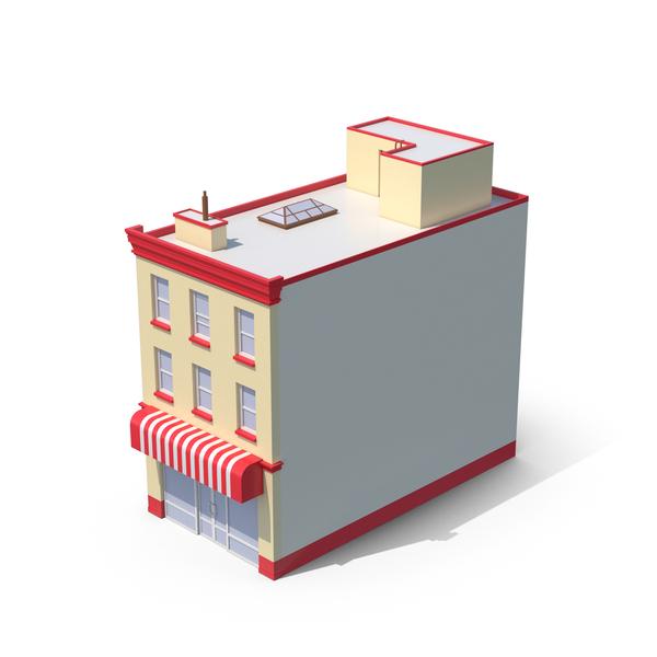 Cartoon Apartment Building PNG & PSD Images