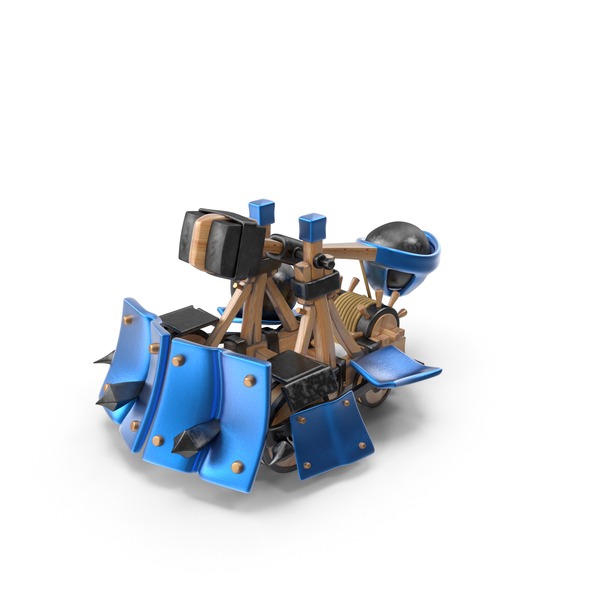 Cartoon Armored Catapult PNG & PSD Images