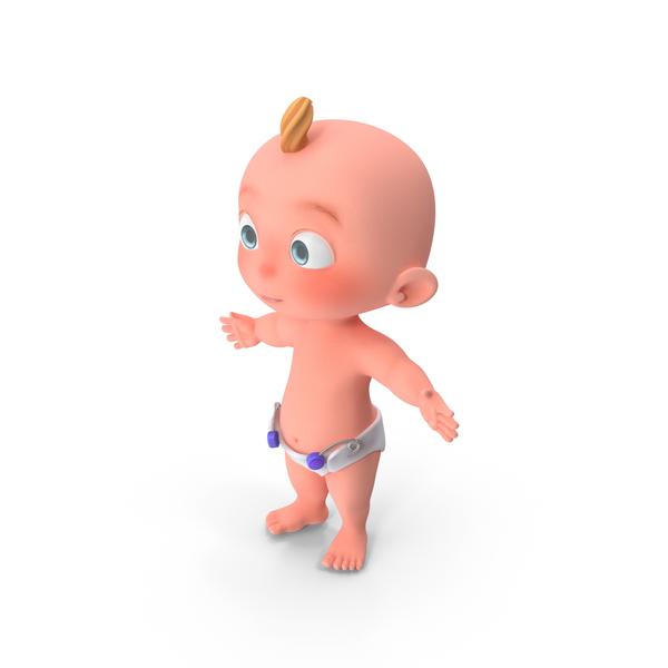 Cartoon Baby PNG & PSD Images