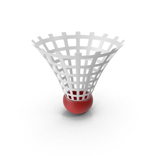 Cartoon Badminton Shuttlecock PNG & PSD Images