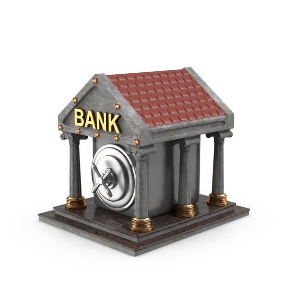 Cartoon Bank PNG & PSD Images