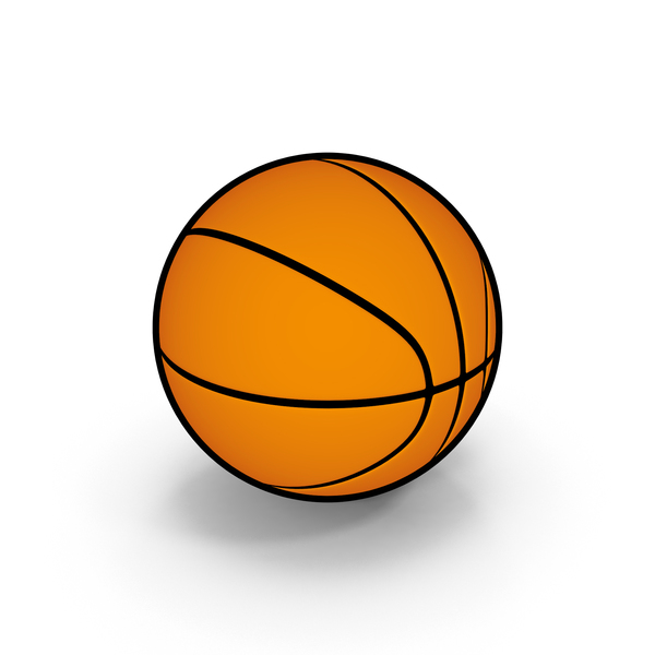 Ball: Cartoon Basketball PNG & PSD Images