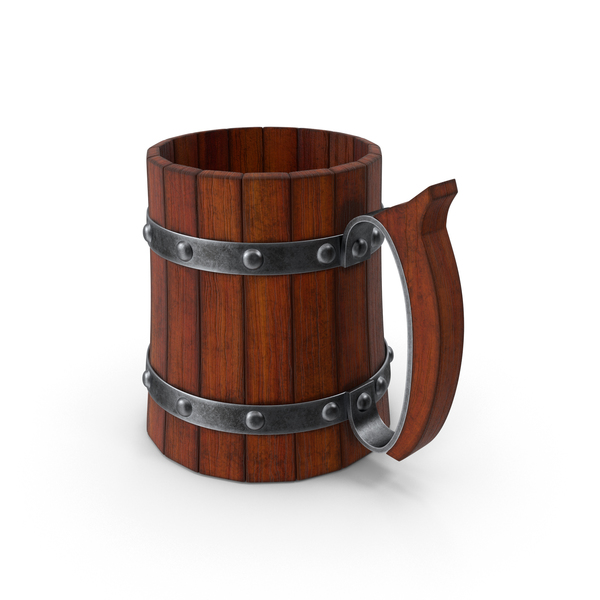 Stein: Cartoon Beer Mug PNG & PSD Images