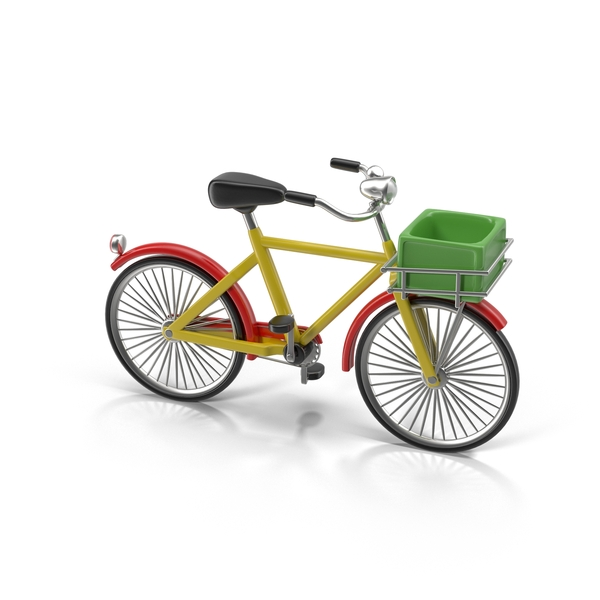 Cartoon Bicycle PNG & PSD Images