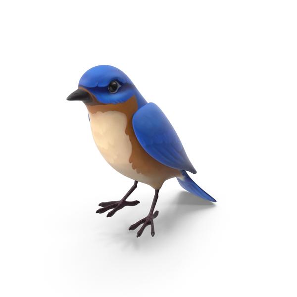 Cartoon Blue bird PNG & PSD Images