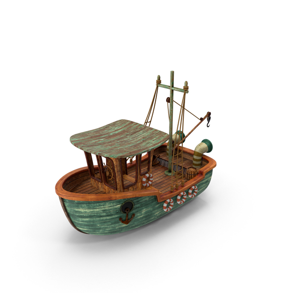 Cartoon Boat PNG & PSD Images