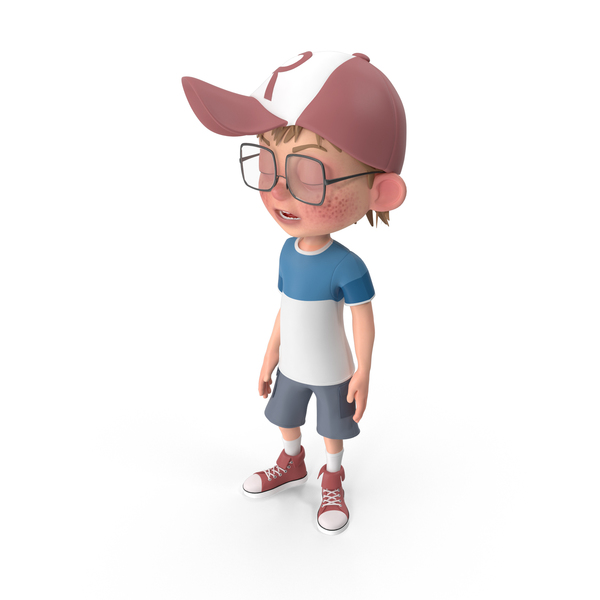 Cartoon Boy Bored PNG & PSD Images