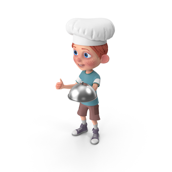 Cartoon Boy Charlie Chef PNG & PSD Images
