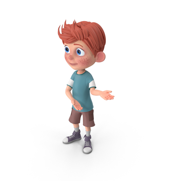 Cartoon Boy Charlie Showcase PNG & PSD Images