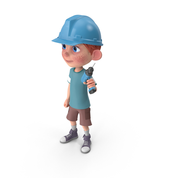 Cartoon Boy Charlie Worker PNG & PSD Images