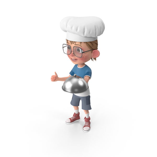 Cartoon Boy Harry Chef PNG & PSD Images