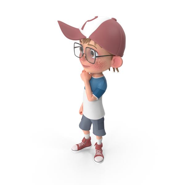 Child: Cartoon Boy Idle PNG & PSD Images