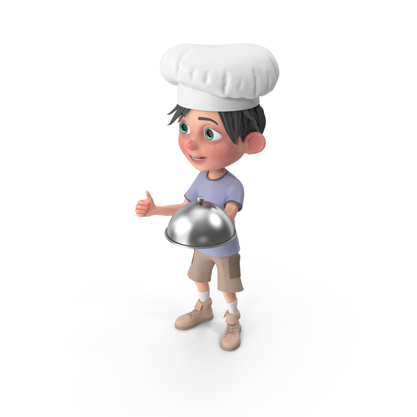 Cartoon Boy Jack Chef PNG & PSD Images